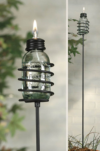 Loxahatchee Collection- mini mason jar oil lamps