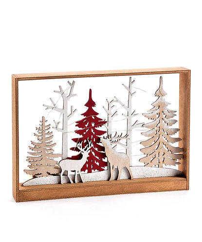 Nordic Collection- LED woodland scene