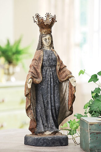 Tequesta Collection- Virgin Mary figurine