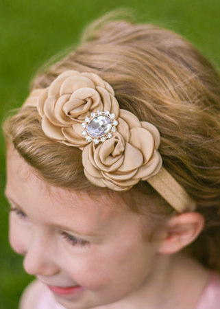 Classic Collection - rosette headband