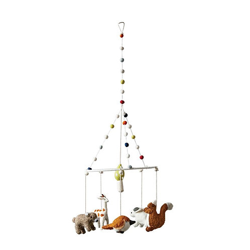 Forest Collection - wool animal mobile's