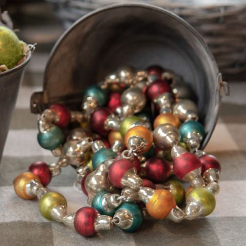 Holly Jolly Collection- multi-color holiday garland