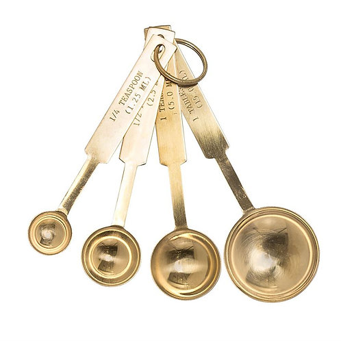 Palm Beach Collection- gold finish measuring spoons