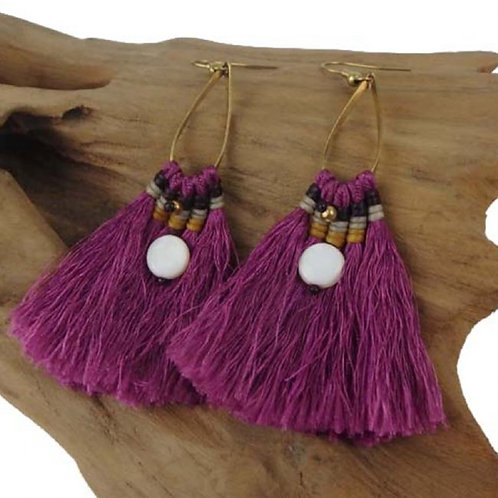 Sanibel Collection - fringe earrings