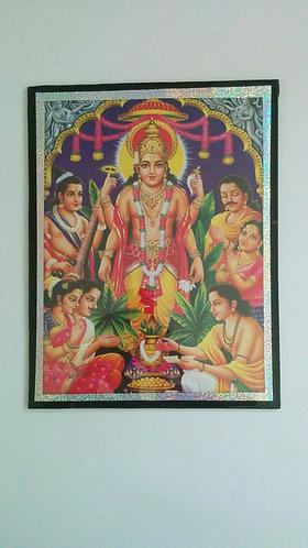 India Collection- Vishnu wall decor