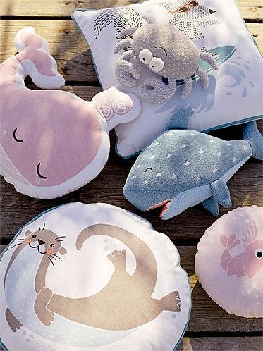Ocean Collection - sea critter pillows