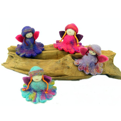 Enchanted Collection- felted flower fairies