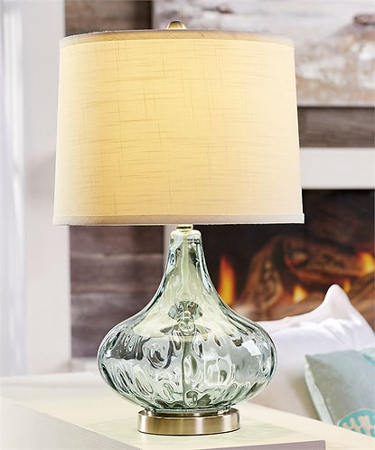 Palmetto Collection- glass table lamp