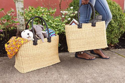 Palmetto Collection- woven market baskets