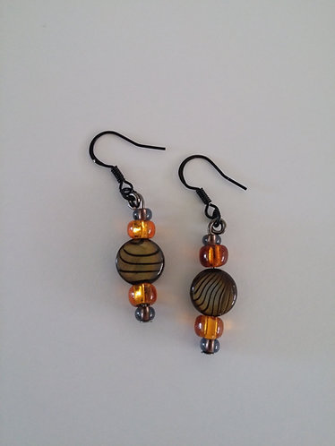 Caribbean Collection- Le Tigre earrings