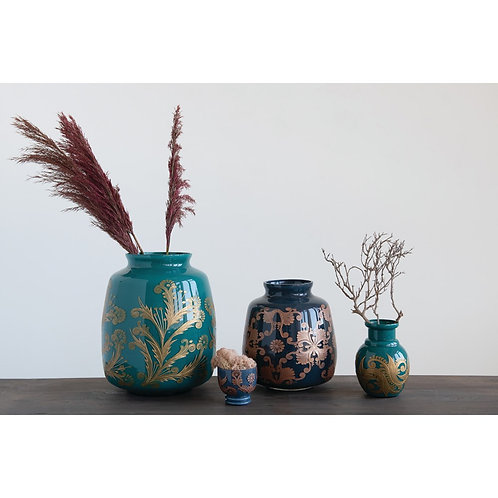 Palm Beach Collection- Eurasian glass vases