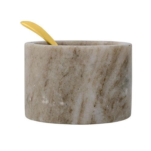 Palm Beach Collection- marble salt jar