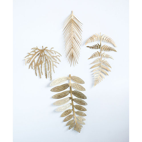 Pinecrest Collection - gold botanical wall decor
