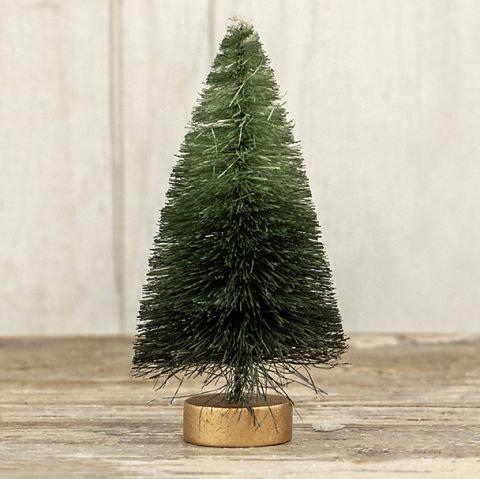 Winter Wonderland Collection- green ombre bottlebrush tree