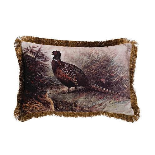 Pinecrest Collection - pheasant decorative pillow