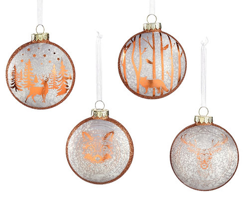 Winter Wonderland Collection- forest animal ornaments