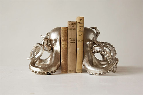 Lighthouse Point Collection- octopus bookends