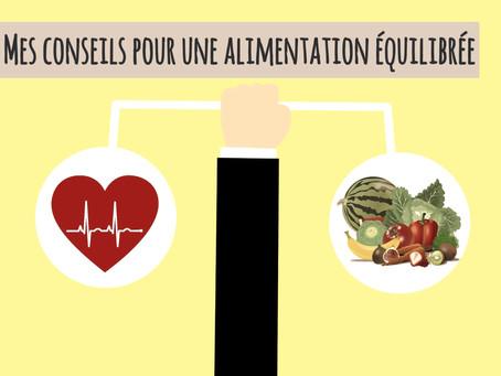 Mes 8 conseils de base pour une alimentation équilibrée