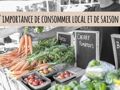 L'importance de consommer local et de saison