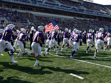 Go JMU Dukes! A win today puts them in the Championship game.