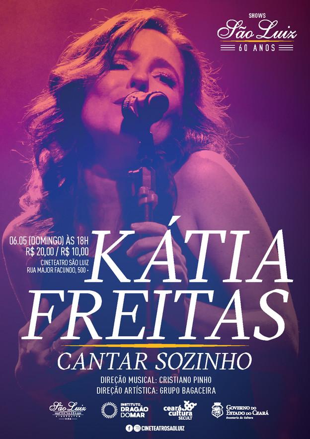 Kátia Freitas - Cantar Sozinho (2018)
