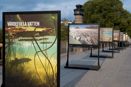 Outdoor exhibition