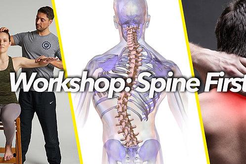 Spine First - Level 1 und 2 - Stuttgart