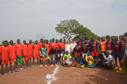 Inauguración campos de fútbol