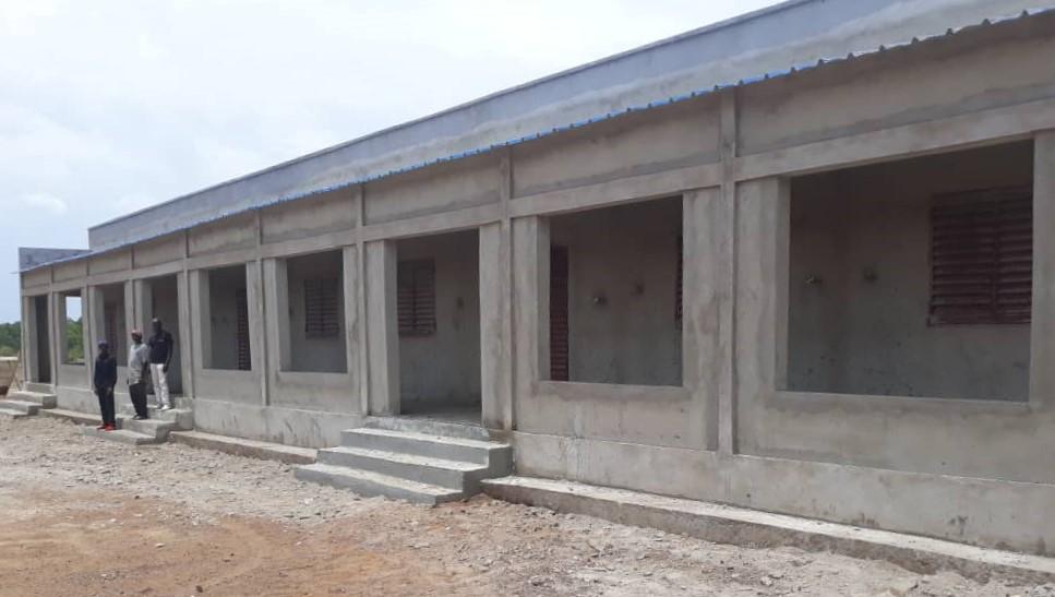 Tercer edificio construido