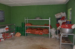 Verduras almacenadas