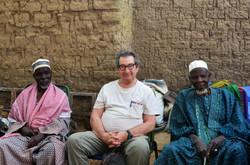Reunión con el chef du village