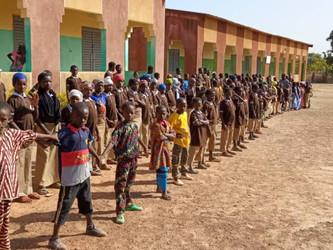Reanudado el curso escolar en Kanso