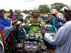Un motocarro para las mujeres