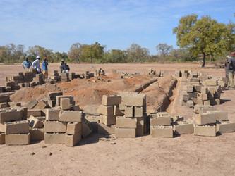 Iniciada la construcción de la biblioteca en Kanso