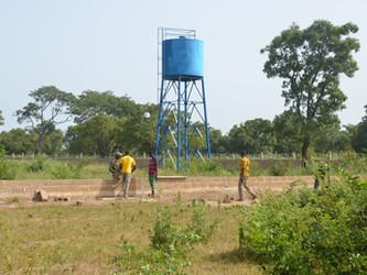 Las instalaciones para el huerto de Kanso avanzan