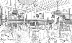 Cena en el Restaurant 7 Portes