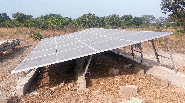 Las placas solares