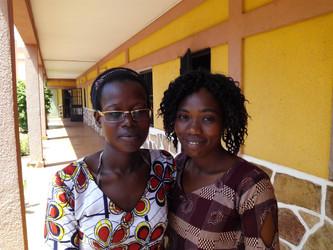 Seguimos formando y apoyando a las chicas de Bamako