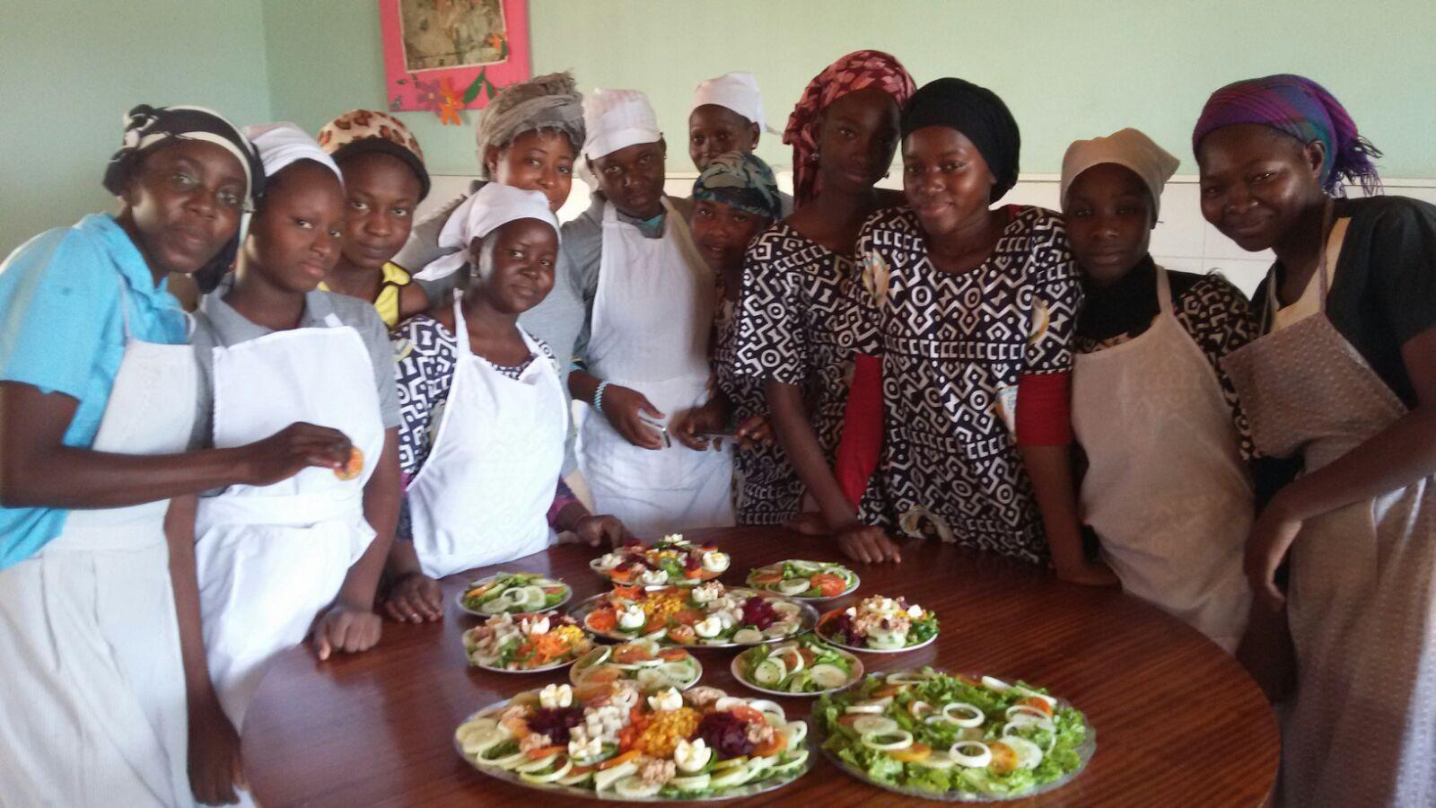 Las chicas del curso de cocina