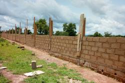 Muro en construcción