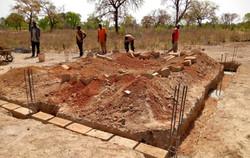Construyendo el edificio cocina