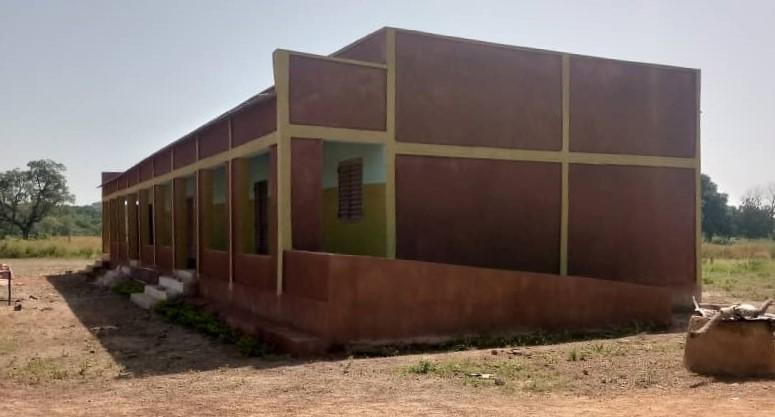 Tercer edificio pintado