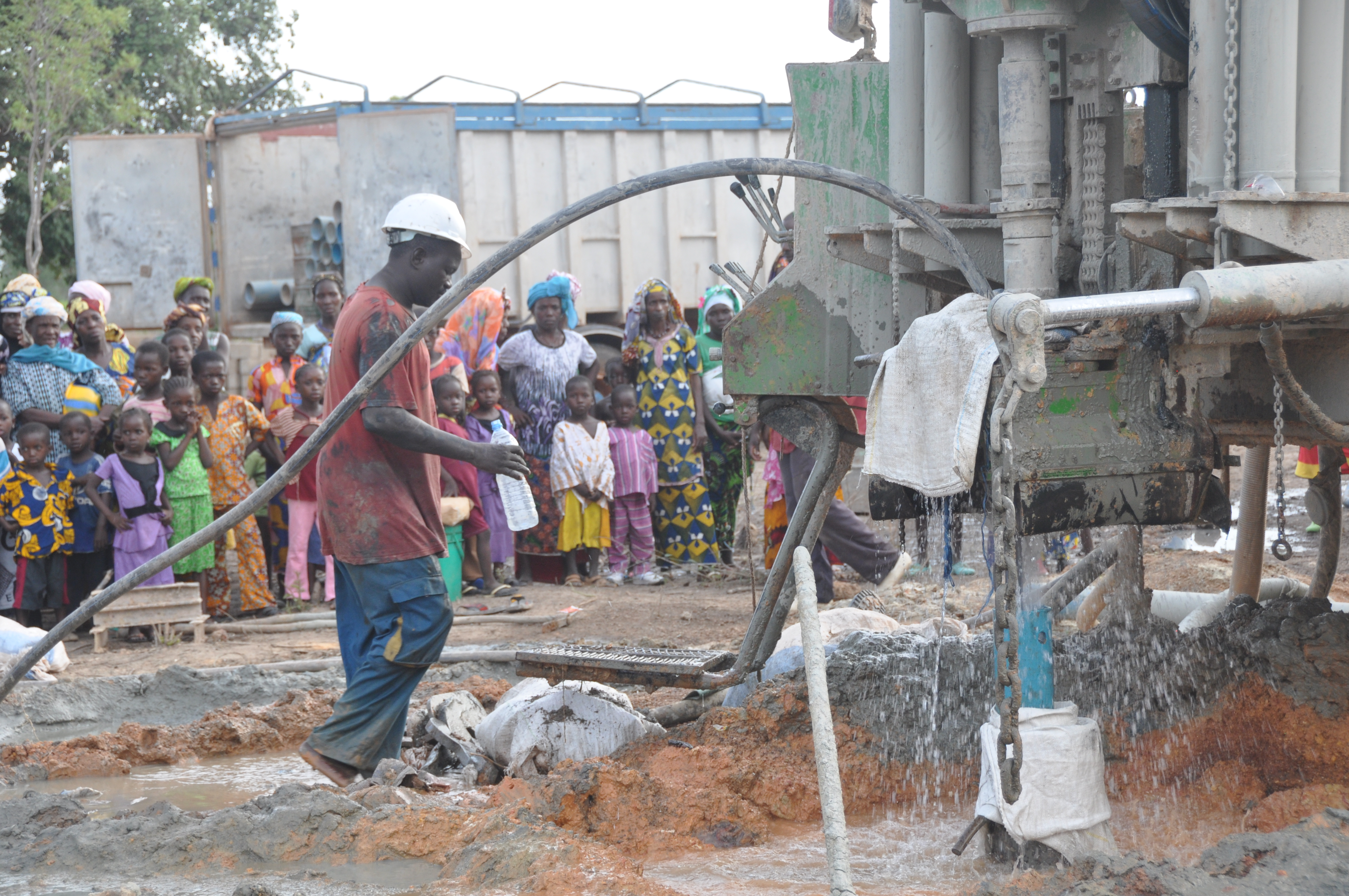 Perforación del pozo
