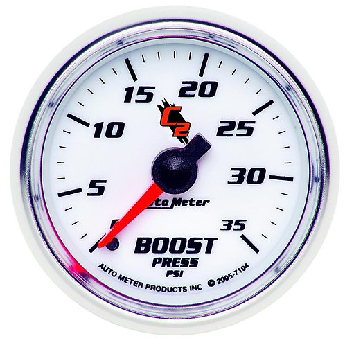 AUTO METER C2 SERIES BOOST GAUGE 7104
