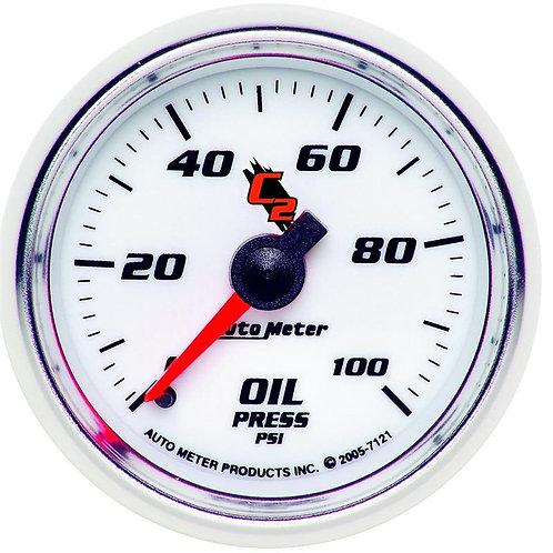 AUTO METER C2 SERIES OIL PRESSURE GAUGE 7121