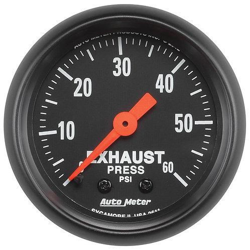 AUTO METER 2611 Z-SERIES EXHAUST PRESSURE GAUGE