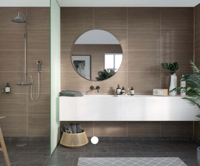 Marina Grey Oak Scandinavian Tile Effect
