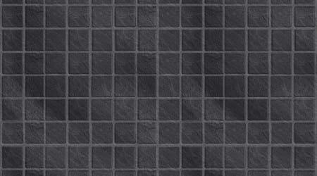 Embossed Black Slate Small Gloss