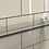 Thumbnail: Waterbury glass shelf (500mm C/C)