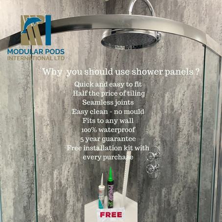 Bathroom Shower Panels are here